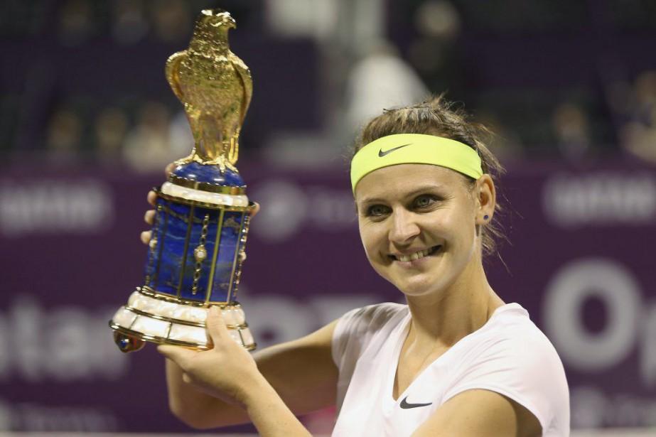 Lucie Safarova... (PHOTO FADI AL-ASSAAD, REUTERS)