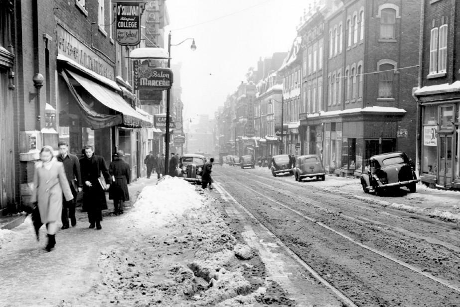 La Rue Saint Jean En 1947 Val 233 Rie Gaudreau D Hier 224