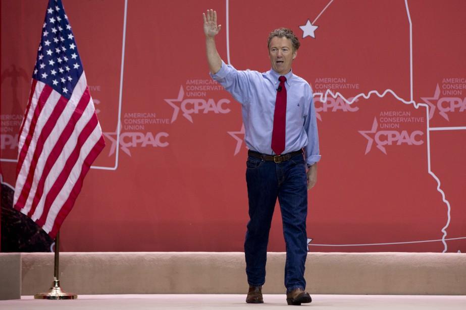 Rand Paula recueilli 25,7% des voix.... (Photo Carolyn Kaster, AP)