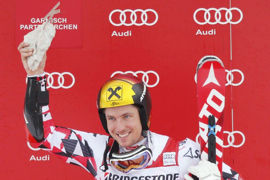 Marcel Hirscher... (PHOTO WOLFGANG RATTAY, REUTERS)