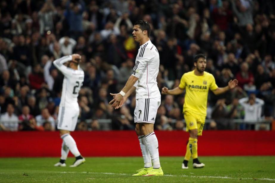 Au classement, Cristiano Ronaldo etle Realn'ont plus que... (PHOTO SUSANA VERA, REUTERS)