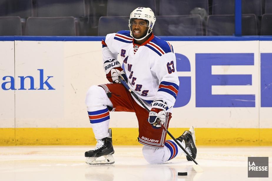 AnthonyDuclair a disputé 18 rencontres avec les Rangers... (Photo: Reuters)