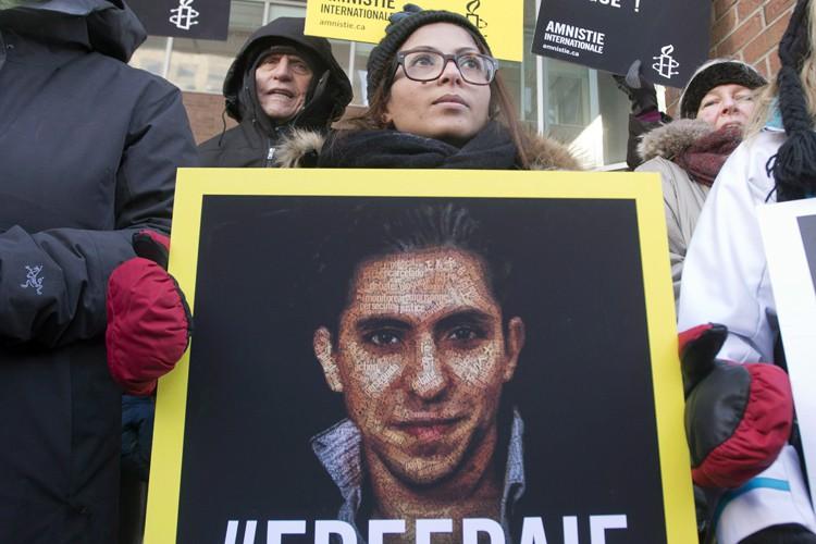 Raif Badawi pourrait être accusé d'apostasie, soit un... (Archives PC)
