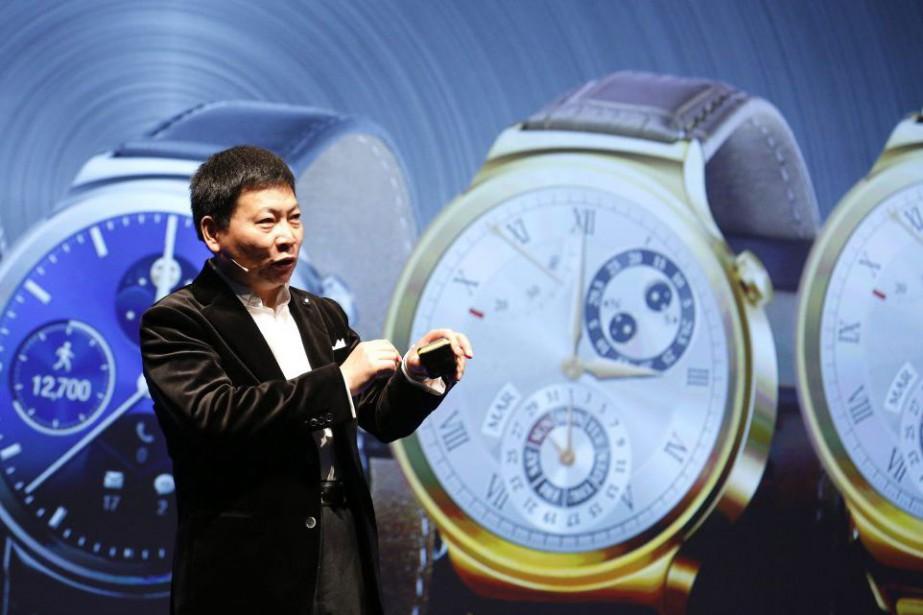 Richard Yu, patron dugéant chinois Huawei.... (PHOTO GUSTAU NACARINO, REUTERS)