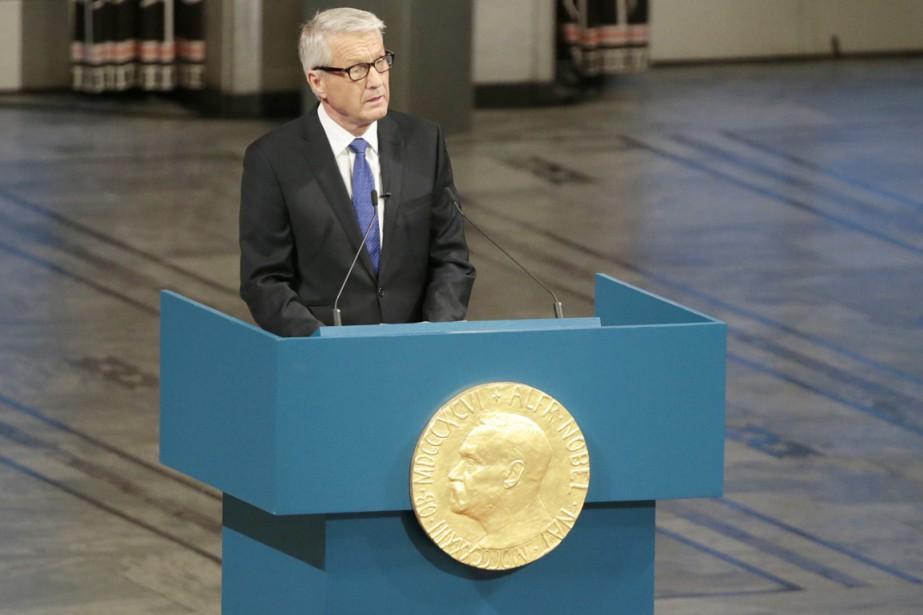Président depuis 2009, lors d'une période jalonnée de... (PHOTO DANIEL SANNUM LAUTEN, ARCHIVES AFP)