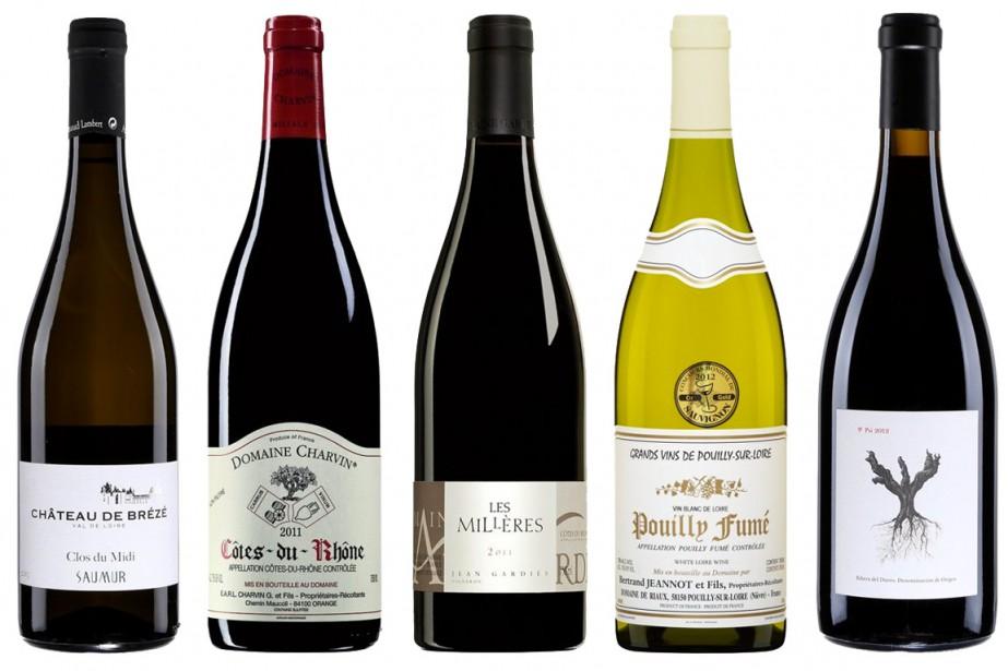 Le vin... est parfois éminemment têtu!Il faut à... (Photos fournies par la SAQ)