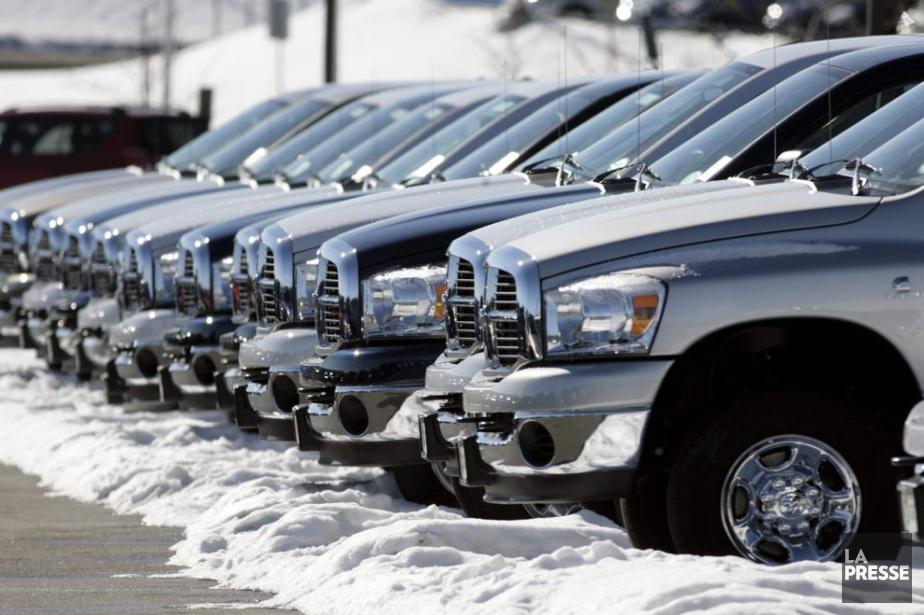 Les trois principaux groupes automobiles américains, le «Big... (Photo archives AP)