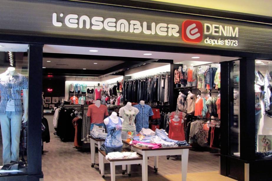 Les activités des boutiques de vêtements et de... (PHOTO TIRÉE DE FACEBOOK)