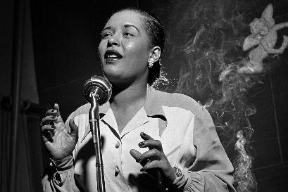 Billie Holiday... (Photo Herman Leonard Photography LLC)