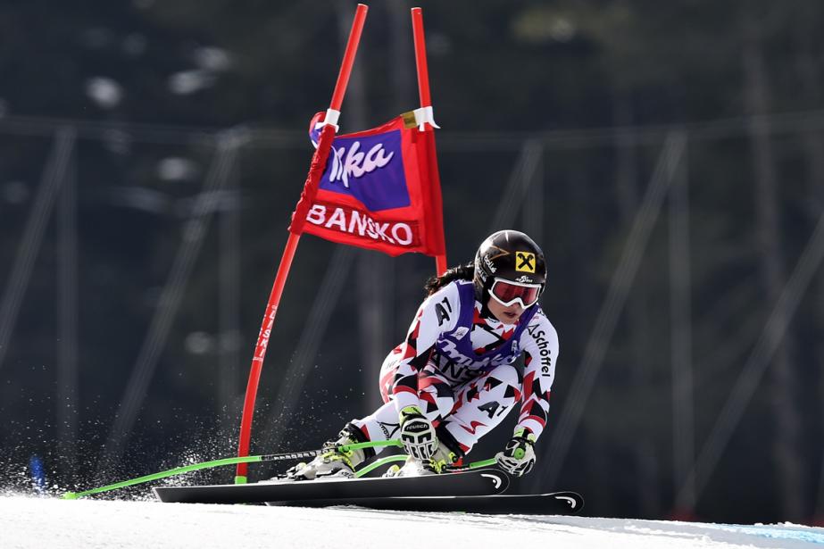 Anna Fenningerpossède une avance de 32 points au... (Photo Dimitar Dilkoff, AFP)