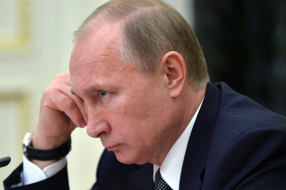 «Nous devons affranchir la Russie de la honte... (PHOTO ALEXEI DRUZHININ, AP/RIA NOVOSTI/SERVICE DE PRESSE PRÉSIDENTIEL)