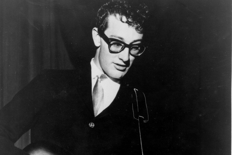 Buddy Holly... (Photo d'archives)