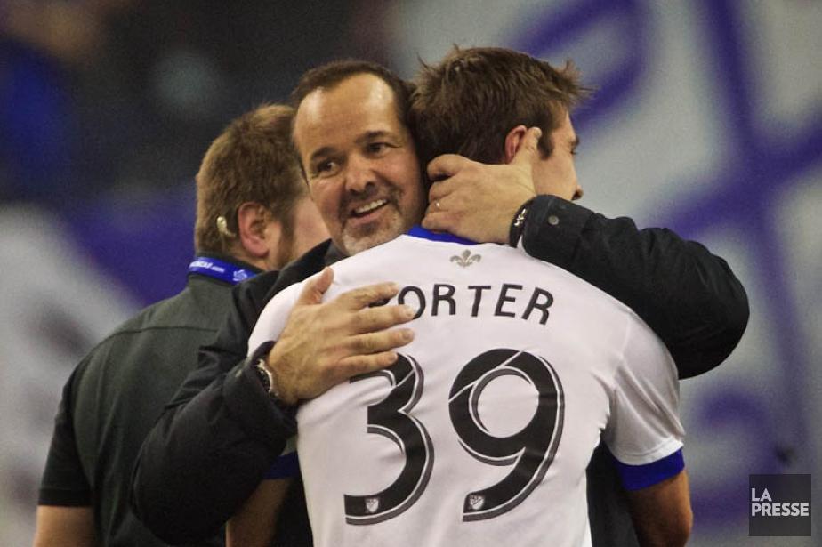 Cameron Porter est félicité par le propriétaire de... (Photo: André Pichette, La Presse)
