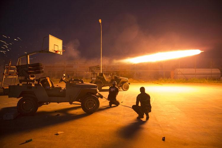 Dans la bataille pour Tikrit, les États-Unis ont... (Photo: Reuters)