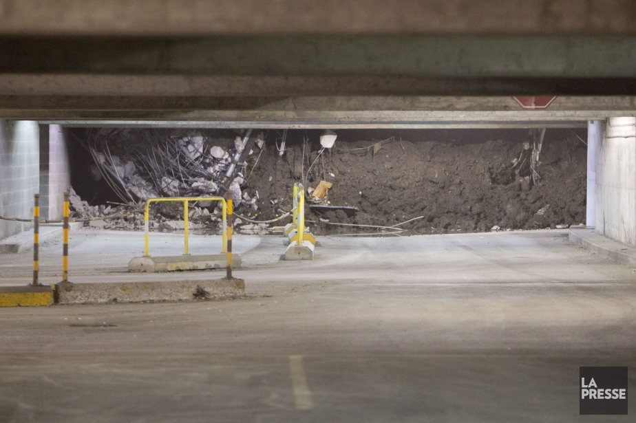 L'effondrement de cette dalle est survenu le 4... (PHOTO HUGO-SÉBASTIEN AUBERT, ARCHIVES LA PRESSE)