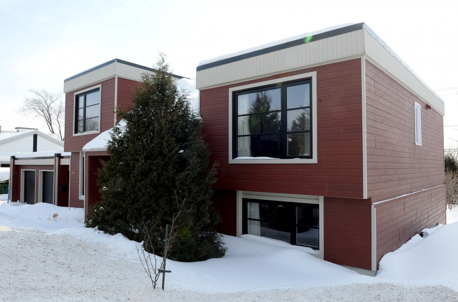 La demeure conçue par l'architecte John Semple a été construite à Charlesbourg en 1973. (Le Soleil, Erick Labbé)