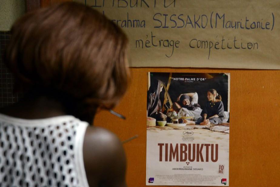 La fiction a attiré les foules jeudi. Nombre... (PHOTO AHMED OUOBA, AFP)