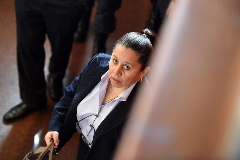 L'ex-patronne des services secrets, Maria Pilar Hurtado.... (PHOTO EITAN ABRAMOVICH, AFP)