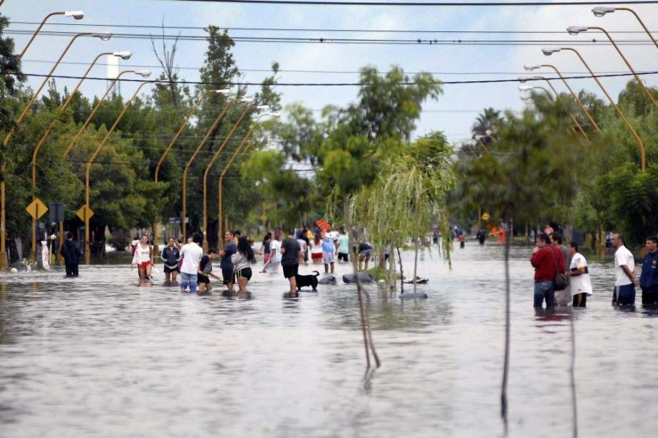 Les provinces touchées actuellement sont celles de Cordoba,... (PHOTO EDUARDO SEVAL, AFP)