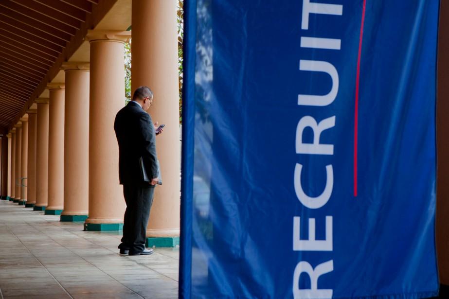 Le chômage a continué de baisser en février aux... (PHOTO ARCHIVES BLOOMBERG)