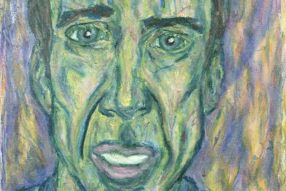 L'oeuvre Nicolas Cage, de Guillaume Grenier-Fontaine... (PHOTO FOURNIE PAR LES IMPATIENTS)