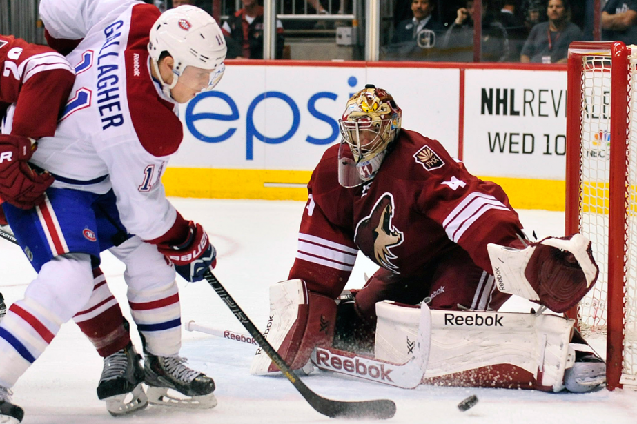 Brendan Gallagher et Mike Smith... (Photo archives USA Today)
