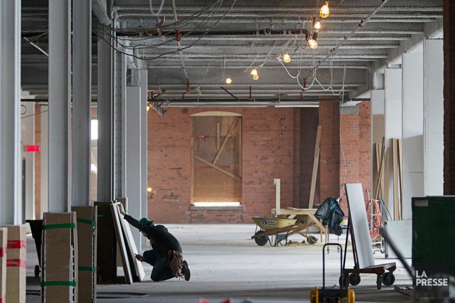 La valeur des permis de construction commerciale a... (PHOTO OLIVIER JEAN, LA PRESSE)
