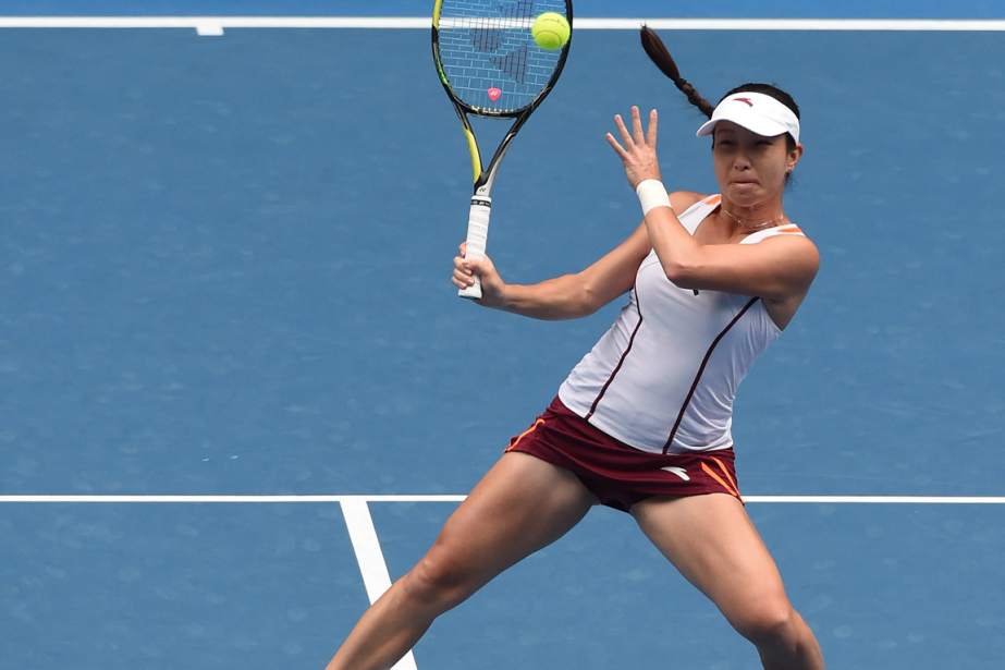 Hsieh Su-Wei... (Photo archives AFP)