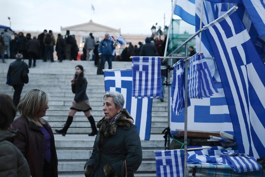 Athènes n'a plus droit aux fonds prévus par... (PHOTO ARCHIVES ASSOCIATED PRESS)