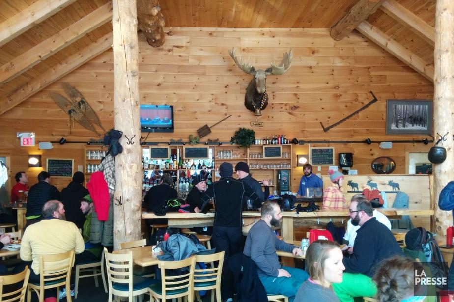 Le Bullwinkle's Bistro est un endroit chaleureux où... (Photo Sylvain Larocque, La Presse)
