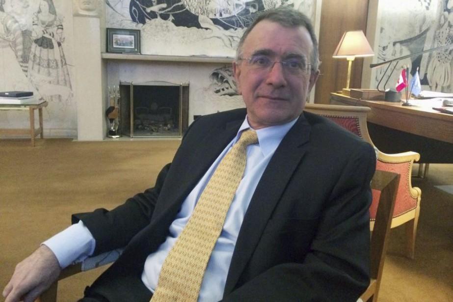 Selon l'ambassadeur français Nicolas Chapuis, l'accord de libre-échange... (PHOTO MIKE BLANCHFIELD, PC)