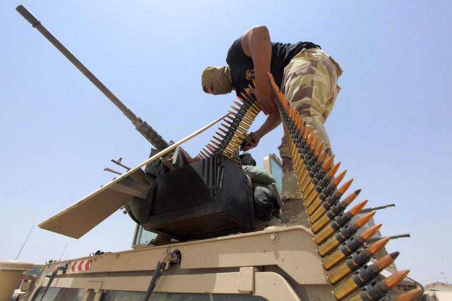 Sur la photo, un soldat irakien.... (Photo Alaa Al-Marjani, Archives Reuters)