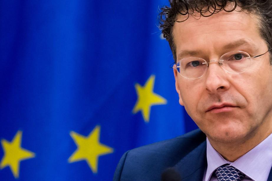 Le président de l'Eurogroupe, Jeroen Dijsselbloem.... (Photo Geert Vanden Wijngaert, AP)