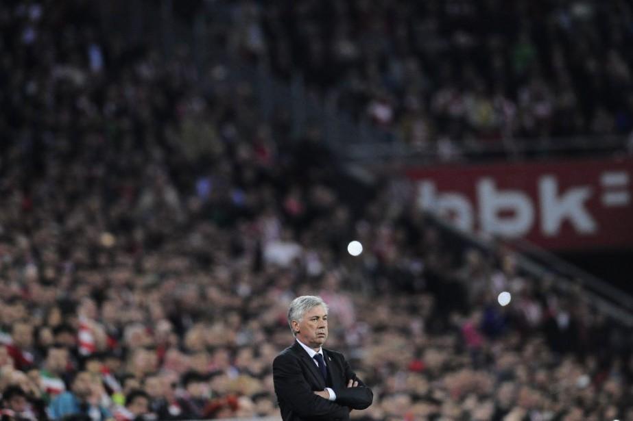 Carlo Ancelotti... (Photo Alvaro Barrientos, AP)