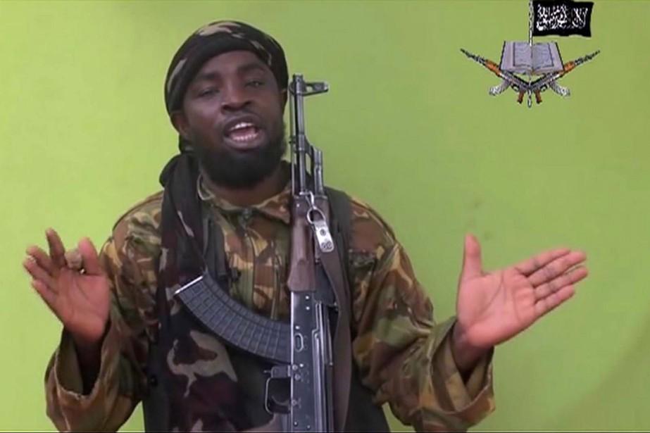 Le chef du groupe islamiste nigérian Boko Haram,... (PHOTO ARCHIVES AP)