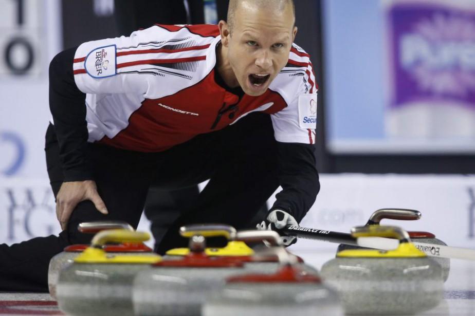 Le skip d'Équipe Canada,Pat Simmons.... (Photo Jeff McIntosh, PC)