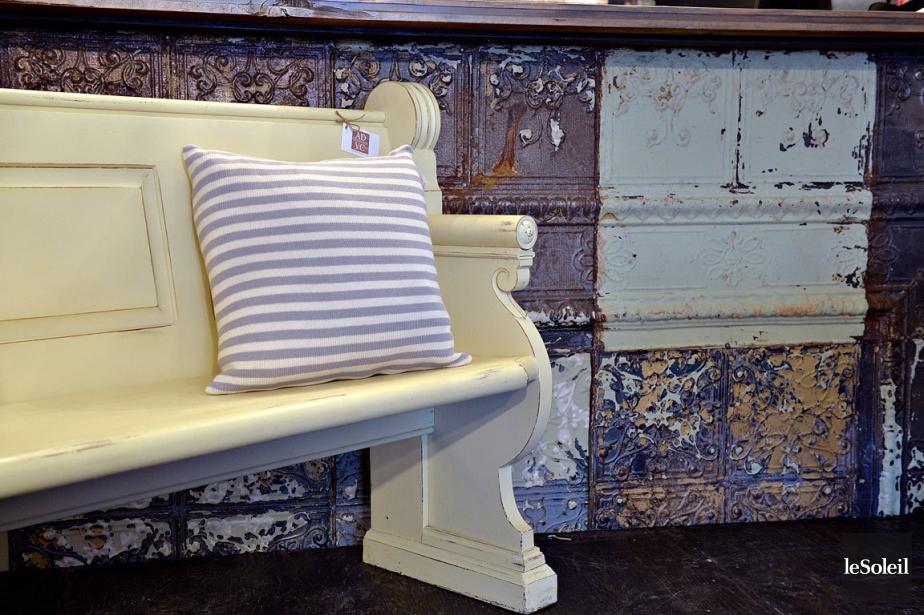 l 39 art de vivre la campagne arrive en ville mich le laferri re mobilier. Black Bedroom Furniture Sets. Home Design Ideas