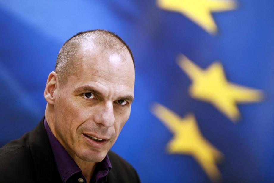 Le ministre grec des Finances Yanis Varoufakis, le... (PHOTO ALKIS KONSTANTINIDIS, REUTERS)