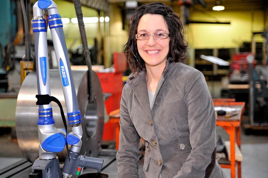 Isabelle Liard est présidente de Liard Industries, un... (PHOTO FOURNIE PAR ISABELLE LIARD)