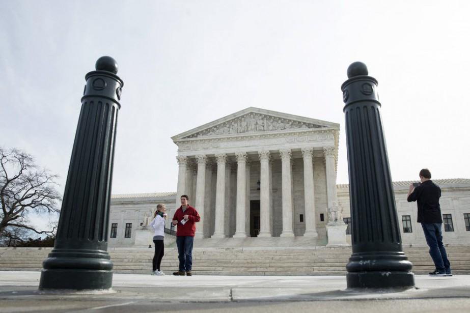 La plus haute instance des États-Unisa annulé lundi... (PHOTO JOSHUA ROBERTS, REUTERS)