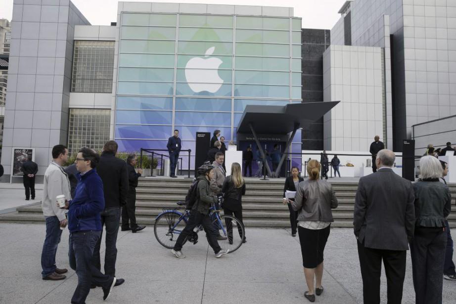La montre d'Apple «est l'appareil le plus personnel... (Photo Eric Risberg, AP)