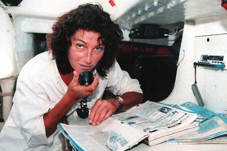 Florence Arthaud en 1997.... (Archives AFP)