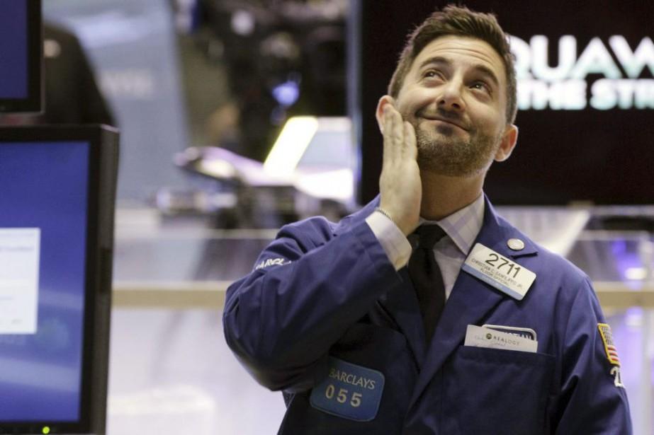 «Les principaux indices sont prêts à baisser maintenant... (Photo Richard Drew, AP)