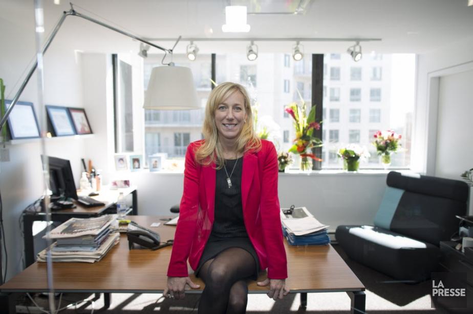 Mélanie Dunn, présidente de l'agence Cossette.... (PHOTO OLIVIER PONTBRIAND LA PRESSE)