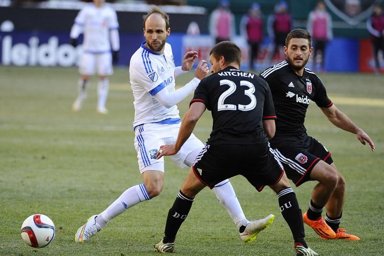 Justin Mapp lors du match de samedi contre... (Photo: Reuters)