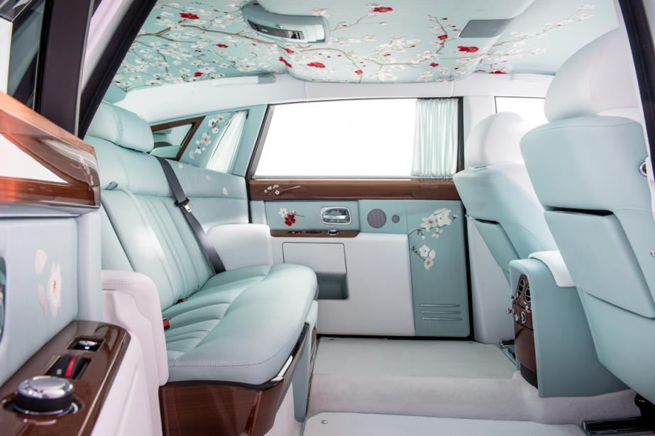 L'intérieur du prototype Serenity de Rolls-Royce.... (Photo fournie par James Lipman)