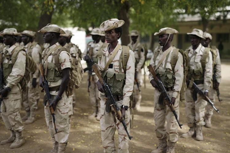 Les troupes tchadiennes ont pénétré sur le territoire... (Photo: AP)