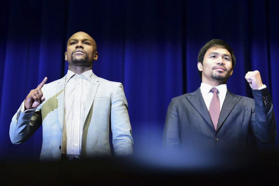 Lors de la seule conférence de presse des... (Photo AFP)