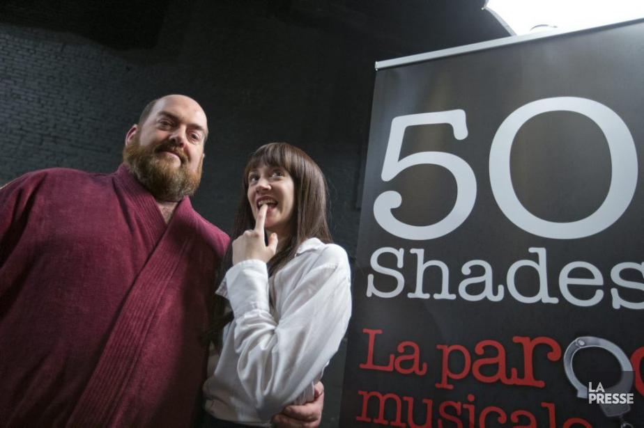 Les comédiens Martin Larocque et Albane Chateau incarneront... (Photo: Ivanoh Demers, La Presse)