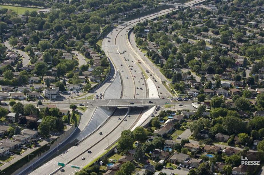 L'autoroute 19, à Laval.... (PHOTO DAVID BOILY, ARCHIVES LA PRESSE)